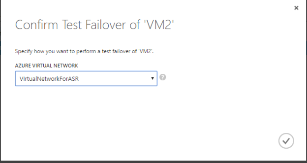 Failover network selection