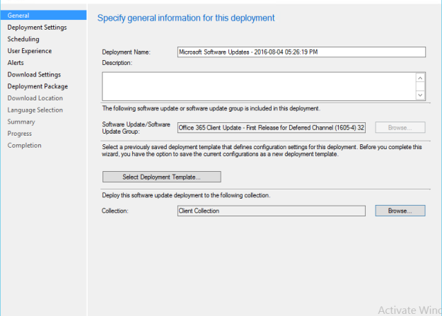 Managing Office 365 Updates with SCCM 1603 | kartikkopalle